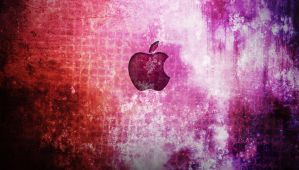 Grunge Apple by Raykage