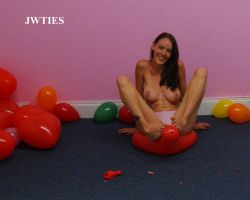 Balloons with Crissy 2 by JWTies