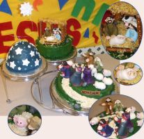 Nativity Cake by themie
