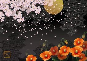 Japanese Spring Nights by vento2007