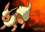 Flareon by inuyashacrazy1