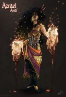 Azrael Amai: Fire Queen by oGuttermoutho