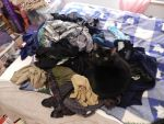 Cole on my clean clothes by gutter-child
