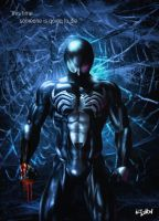SPIDERMAN - BACK IN BLACK by isikol