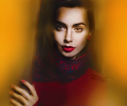 Lily Collins by fascination21