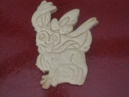 Sylveon Cookie Baked by B2Squared