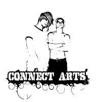 artist logo in connect arts by enever