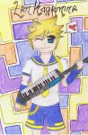 Len Kagemine .:Vocaloid:. by Crystal-Moon-Beam