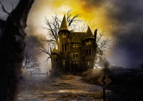 Haunted house by adrianamusettidavila