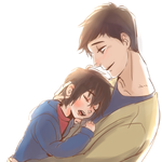 son and dad by hiraco