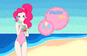 Pinkie Pie's Summer by Mattmankoga