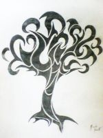 Tribal Tree by Songue