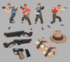TF2 Public Enemy Pack WIP by Elbagast