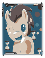 Doctor whooves case by spot1the2dog3