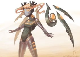 Mecha Girl by soul-crafter