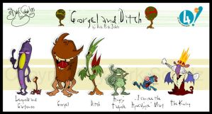 Gorgel and Ditch Lineup by Themrock