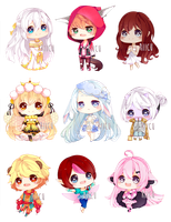 Cheeb Batch 12 by riicu