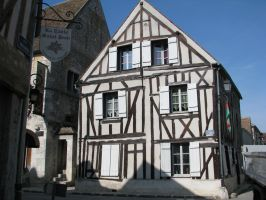 Place 179 - medieval house by Momotte2stocks
