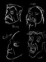 Faces Practice by Immhoshlakh