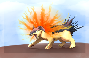 Typhlosion by Doctor-of-Madness