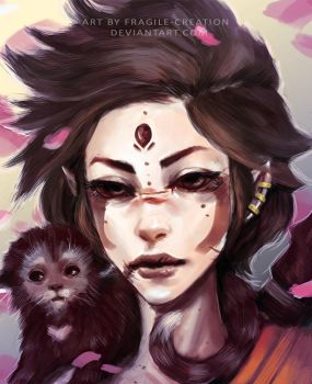 Lill' Monkey by fragile-creation