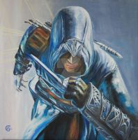 Assassin's Creed Painting - Oil on Canvas by AnaCrafty