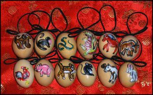 2008 Chinese New Year Eggs by BethMcBeth