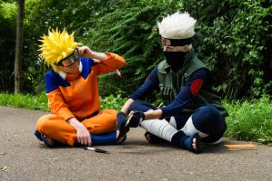 Learning and teaching (Naruto Cosplay) by Stray-Cat-Yoru