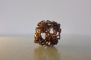 Metal 3D printed fractal model by nic022