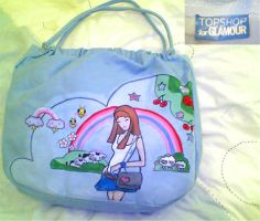 Tokidoki Painted Bag by olamo