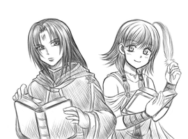 Soren and Lute by Taco-Yaki