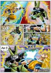 -DBM- Goku VS Cell page 01 by DBZwarrior
