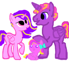 my version of cadences parents mom crystal heart by autumnwolf5301