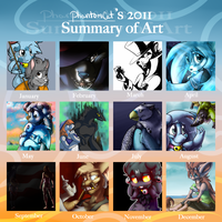 2011 Art Summary by PhantomCat
