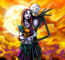 CC: Jack and Sally by MistyTang