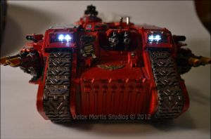 Bloody Landraider by Velox-Mortis