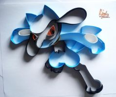 Riolu by AlmostBlueKitty