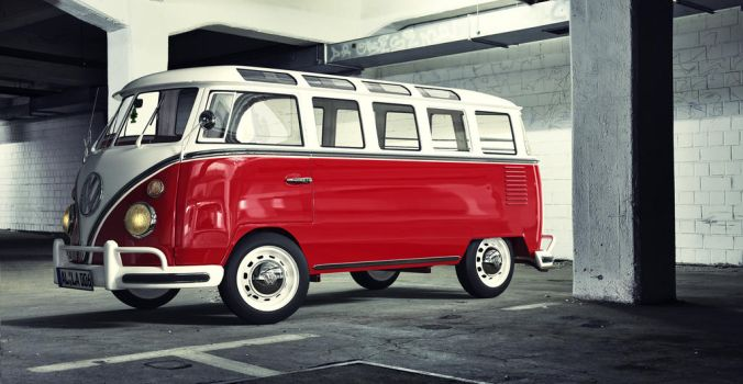 Vw T1 Samba Garage by JambioO