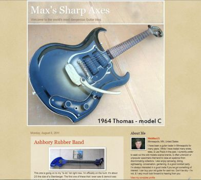 Max's Sharp Axes by Duganrox