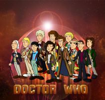 The 11 doctors wallpaper by CPD-91