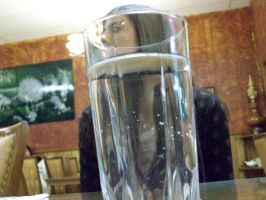 Alex in Water Glass by Anjjel