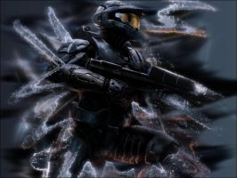 WALLPAPER - Moar Halo 3 by Pokehkins