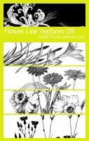 Flower Line textures 09 by mini0714