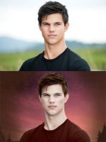 Jacob Black as a Vampire by VCRetouching