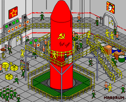 Soviet Missile by Mardrum