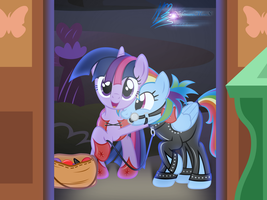 Trick Or Treat by RainbowDashie