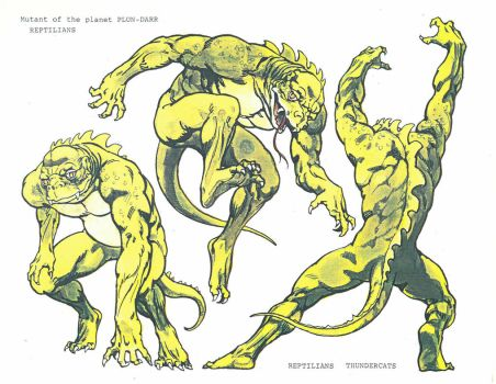 ThunderCats Reptilian by Curious4ever