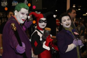 Jokers and Harley Quinn by VoiceofSupergirl