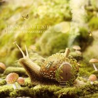 Snail home by JennyLe88