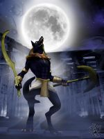 Rage of Anubis by BlackWolf-Studio